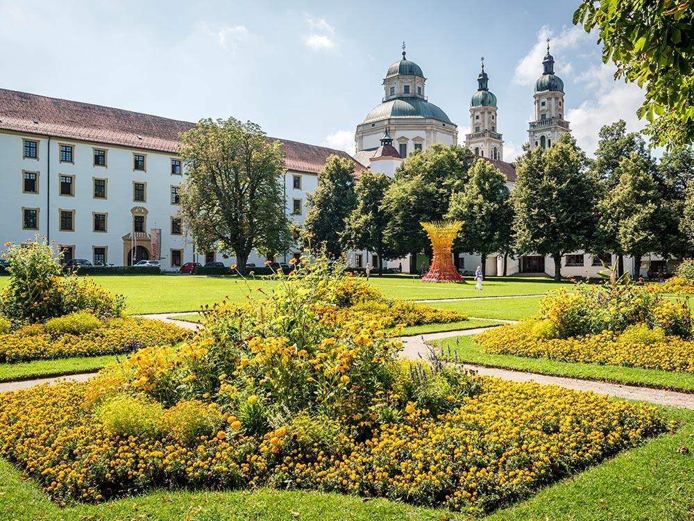 Kempten Allgäu Hofgarten